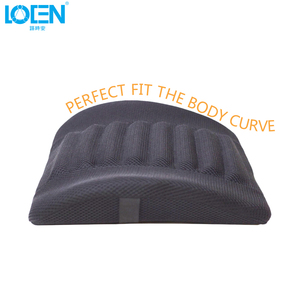 Image 3 - 1PCS Breathable Mesh Cloth Car Seat Lumbar Cushion Pillows Soft Cotton Back Support for Car Seat Lumbar Support For Office Chair
