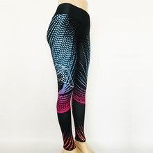 HEAL ORANGE Honeycomb Printing Leggins Sport Women Fitness Running Pants Women Sports Wear For Women Gym Pants Athletic Leggings