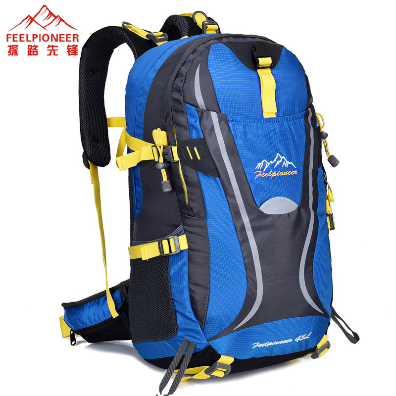FEEL PIONEER Hight Quality Waterproof  Bag 45L Travel Pack Hike Backpack Women Professional Tourist Backpacks Men Travel Bags large 75l feel pioneer professional waterproof cr travel backpack camp hike mochilas climb bagpack laptop bag pack for men women
