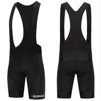 SUREA White Logo High Quality Comfortable Outdoor Race Cycling MTB Sweaty Black Bib Shorts Breathable GEL