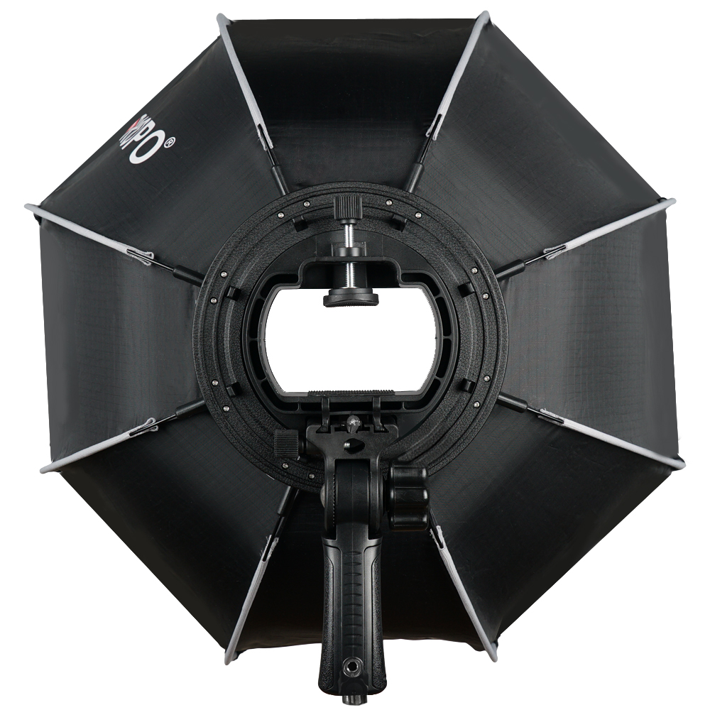 Image 3 - TRIOPO 65cm Foldable Softbox Octagon Soft box w/Handle for Godox Yongnuo Speedlite Flash Light photography studio accessories-in Softbox from Consumer Electronics
