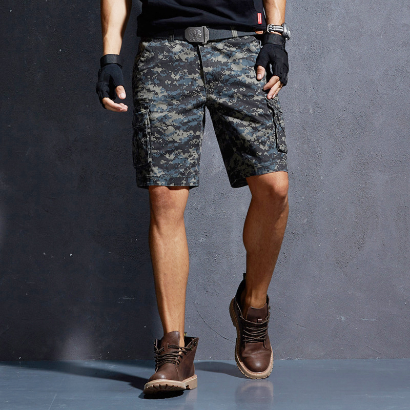 26cd367bfe Vomint New Summer Mens Shorts Camouflage Cargo Short Pants Hot Fashion Five  part Pants Youth Tooling Beach Men's Outwear Shorts-in Casual Shorts from  Men's ...