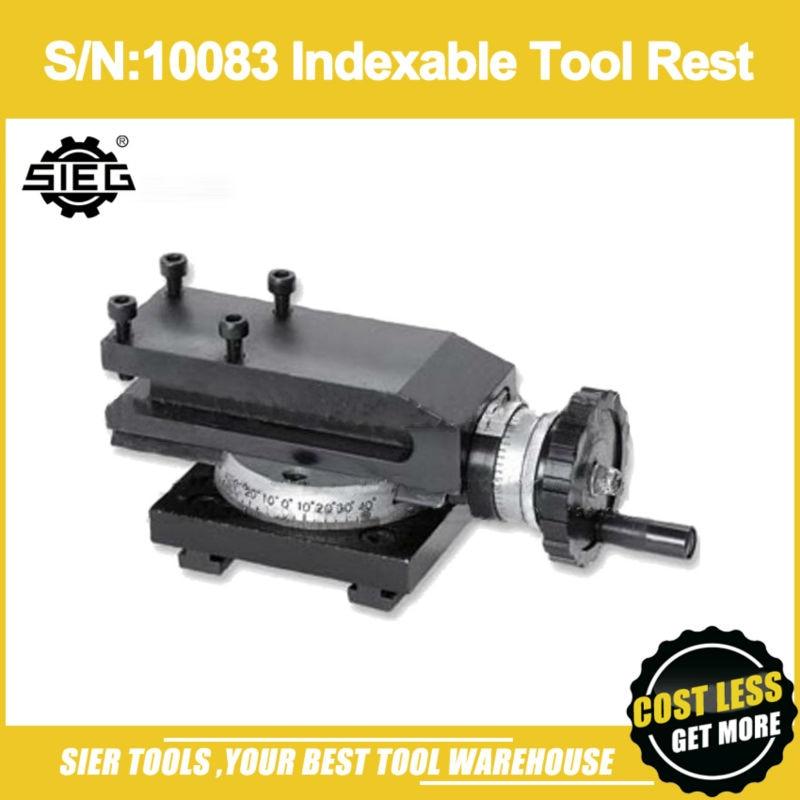 S N 10083 Indexable Tool Rest Horizontal Slider SIEG C1 M1 C1A Tool Holder