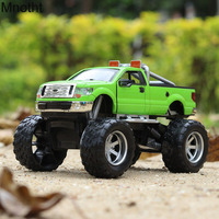 Mnotht 1 36 Bigfoot Raptor Off Road Vehicle Diecast Car Models Alloy Pull Back Sounds Musical