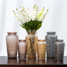 2019 New Creative Tabletop Glass Vases European High-end Decoration Home Desk Decor Valentines Gift