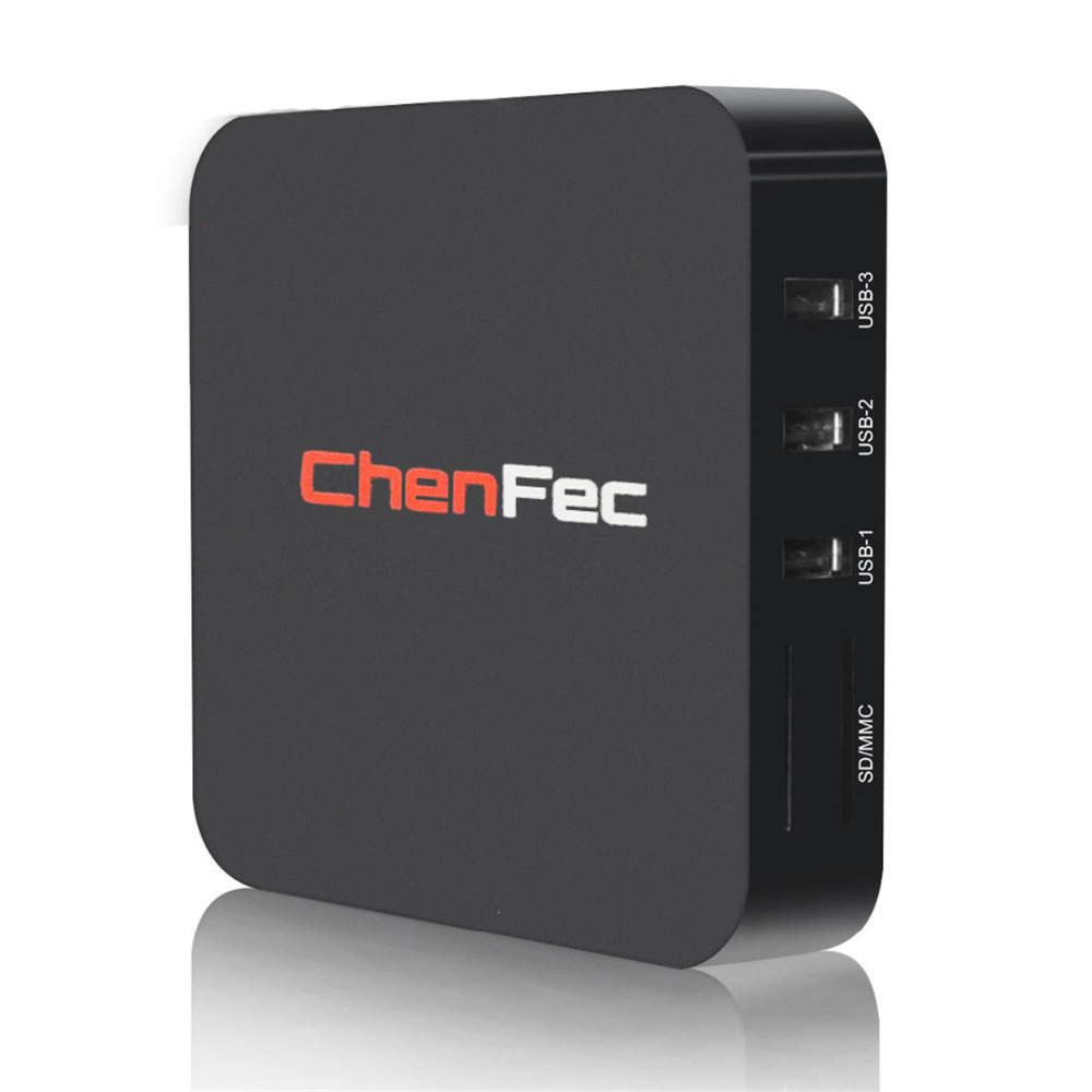 Android 5.1 TV Box CHENFEC Q1 Pro 4K 1G/8G RK3229 Quad-core PC KODI 16.1 Miracast 4K2K H.265 3D 2.4G WiFi LAN Media Player