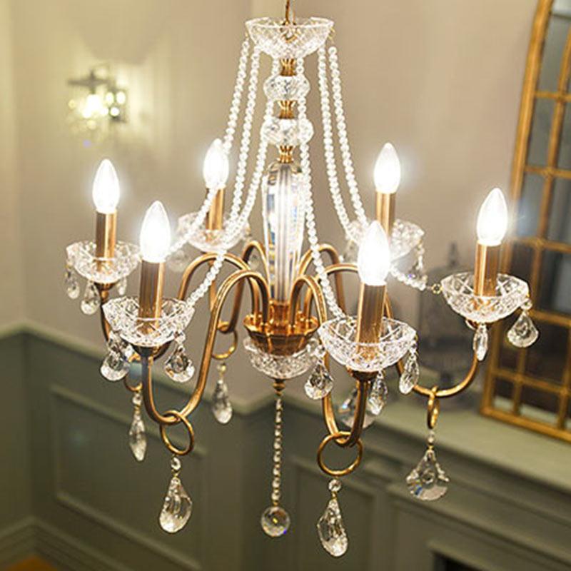 Led lampadario per sala da pranzo camera da letto lampada for Lustre salle a manger rustique
