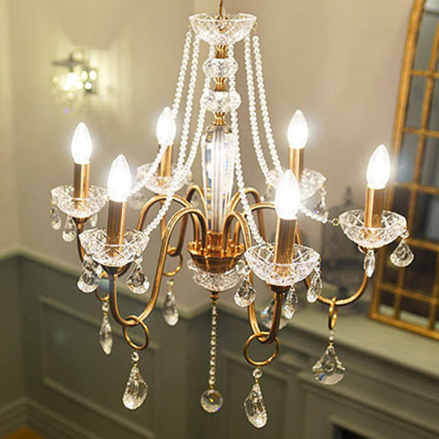 Led Rustikale Vintage Kronleuchter Für Esszimmer Schlafzimmer Lampe Italien  Stil Antiken Eisen Hängen Beleuchtung Kristall