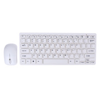 Portable Mini Ultra Thin 2 4GHz Wireless Keyboard Keyboard Protective Cover Wireless Mouse Kit For Desktop
