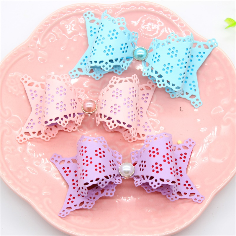KLJUYP Flower Bow Metal Cutting Dies Paper Craft Decoration