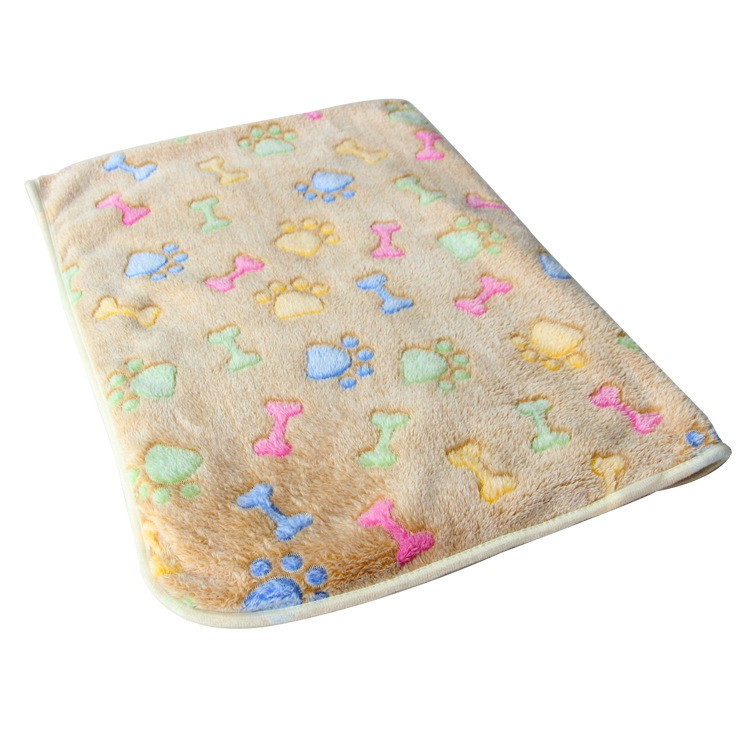 Bone Paw Print Dog Bedding