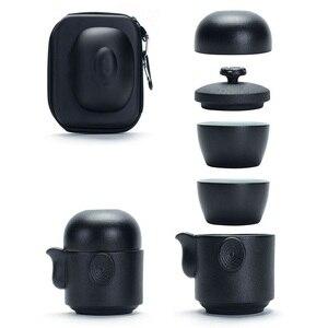 Crockery Ceramic Teapot + 3pcs