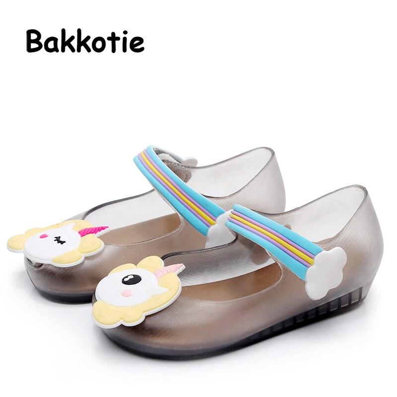 Bakkotie 2018 New Fashion Summer Cloud Baby Girls Soft Sandals Pink Cute  Rainbow Shoes Toddler Boy Brand Black Little Kid Heel-in Sandals from Mother    Kids ... 0e71b0685fc2