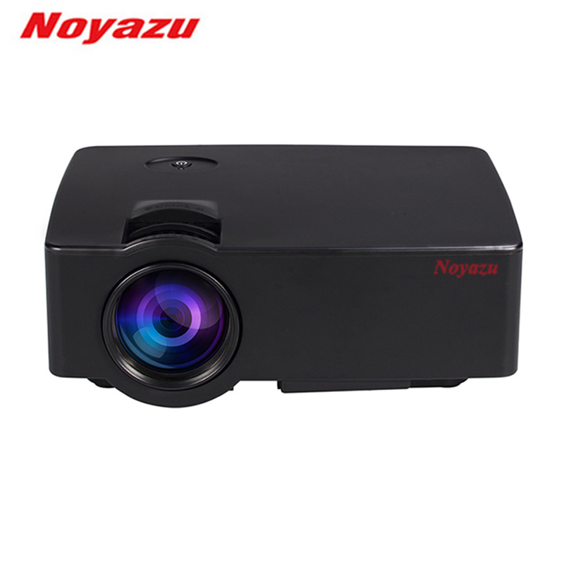 Noyazu Mini Portable Projector 800 x 480 Full HD LED Video Home Cinema Support Miracast Android