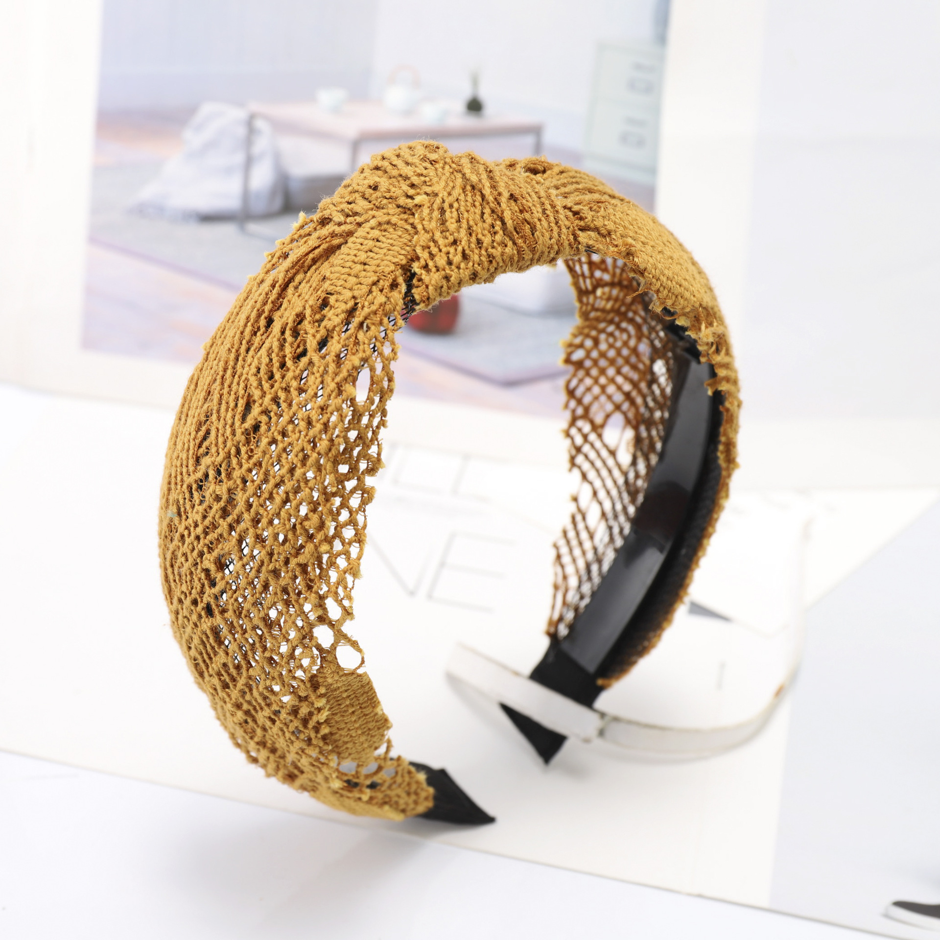 Kpop Lace Hair Accessories Makeup Headband Harajuku Vintage Retro Bow Woman Accessory Fashion Wide Lace Hairband 2019 Headwear in Women 39 s Hair Accessories from Apparel Accessories