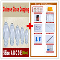 27 pcs acupuncture masssage glass Cupping set dial-proof vacuum glass cupping suction cup