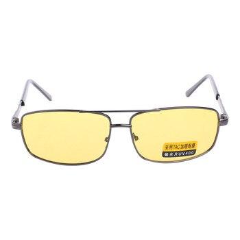 c597cc35b Gafas de sol amarillas lentes polarizadas visión nocturna conducción UV 400  gafas GRT