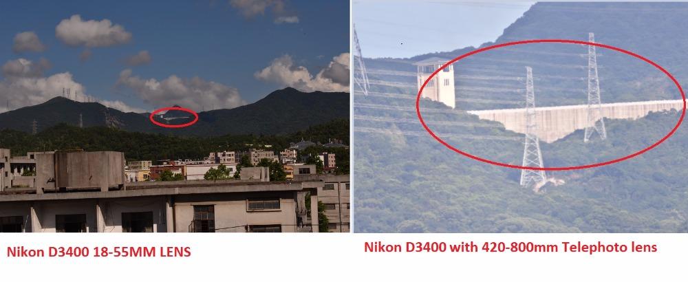 Lightdow 4-800mm F/8.3-16 Super Telephoto Lens Manual Zoom Lens for Canon Nikon Sony Pentax DSLR Camera 18