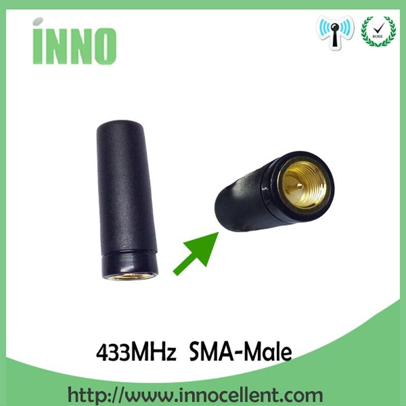 bilder für 5 stücke los 433 MHz antenne gerade kopf stabantenne Drahtlose digitale zählerablesung kommunikation system PM433-ZT28