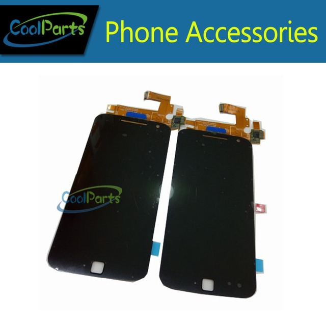 1PC/Lot High Quality For Motorola MOTO G4 Plus XT1644 LCD Display And Touch Screen Digitizer Assembly Black And White Color