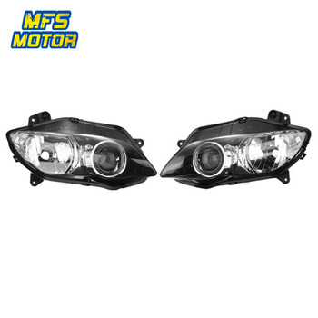 For 04-06 Yamaha YZF-R1 YZFR1 Motorcycle Front Headlight Head Light Lamp Headlamp Assembly 2004 2005 2006