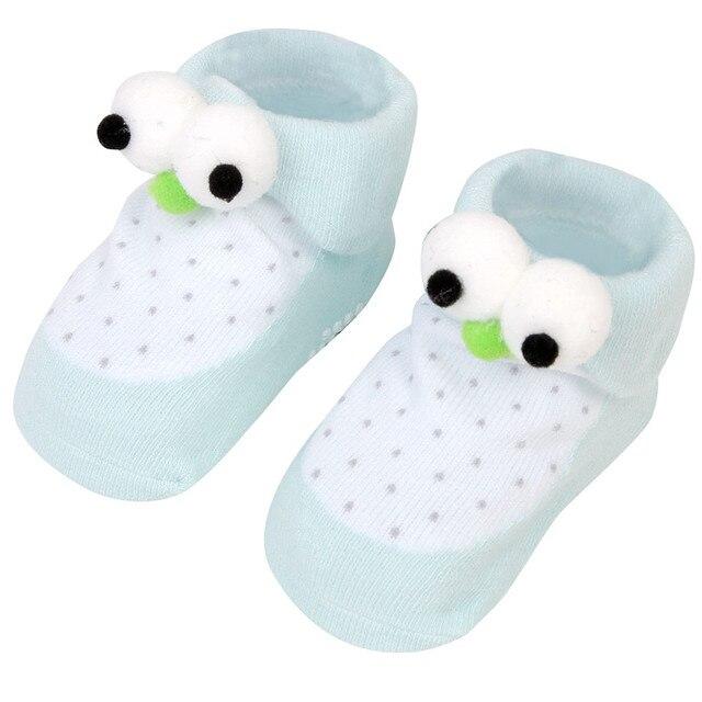 LONSANT Fashion Infant Baby Big Eyes Socks Soft Non slip