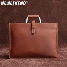 Famous Brand New Design Men's Briefcase Satchel Bags For Men Business Fashion Messenger Bag 13 Laptop Bag SF