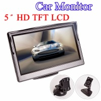 5 Car Monitor TFT LCD 5 0 Inch 800 480 16 9 Screen 2 Way Video