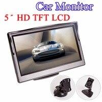 5 Car Monitor TFT LCD 5 0 Inch 800 480 16 9 Screen 2 Way Video