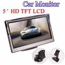 Hippcron 5 Inch Car Monitor TFT LCD 5″ HD Digital 16:9 800*480 Screen 2 Way Video Input For Reverse Rear View Camera DVD VCD