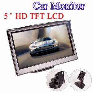 Hippcron VCD Screen Car-Monitor DVD Tft Lcd Digital Rear-View-Camera Video-Input Reverse