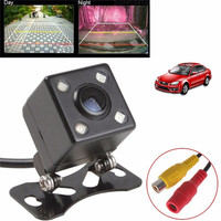Night Vision Promotion HD CCD 4 LED Rear View Camera Reverse Rearview Car Backup Parking Camera
