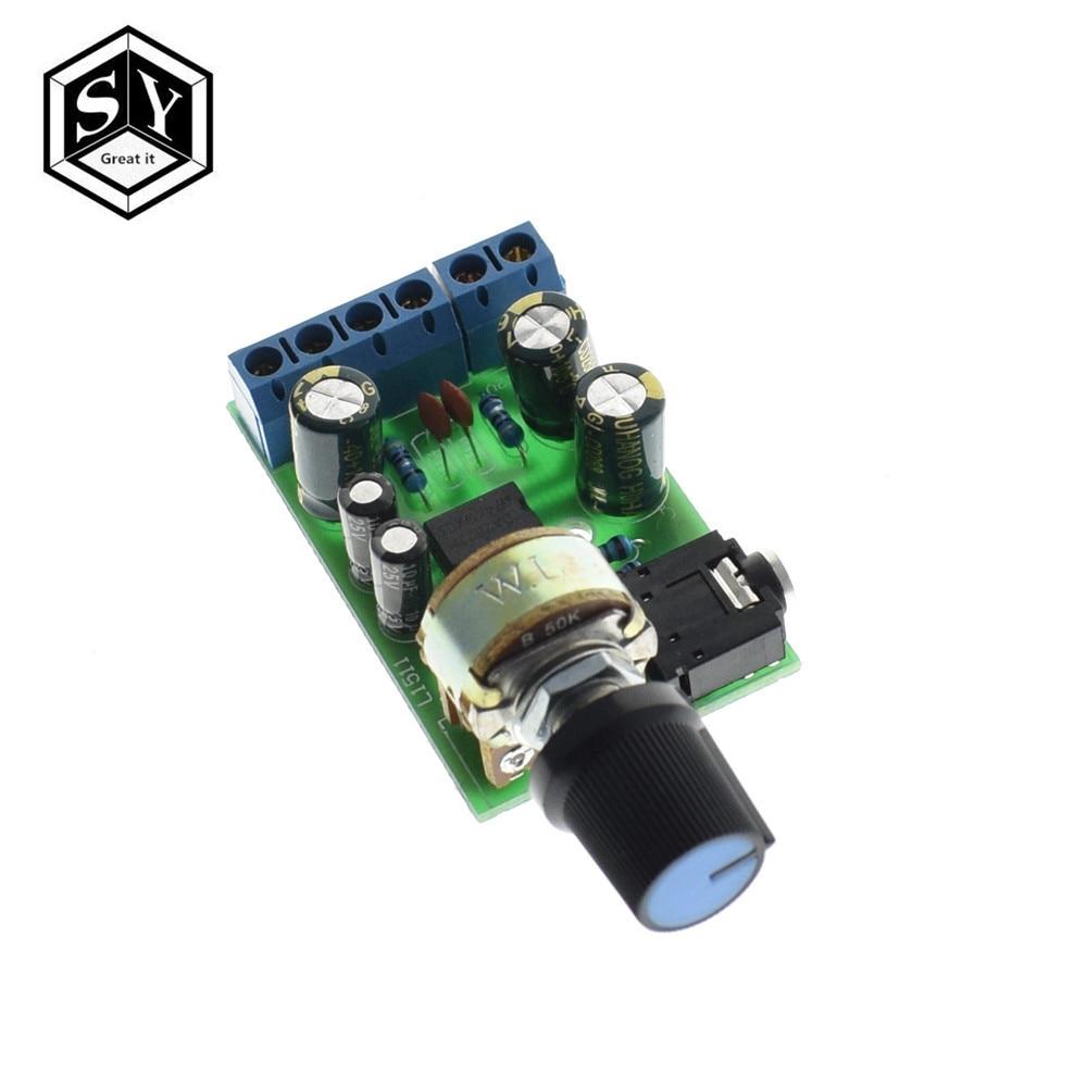 Tda2822m 20 Stereo Audio Amplifier Board Dual Channel Amp Aux Electric Unit Circuit Module 12v 2x15w Mini 1pcs Dc 18