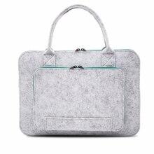 Universal 15.6 Inch Laptop Bag for Macbook Air Pro Retina 11 13 15 Case Women Briefcase Handbag
