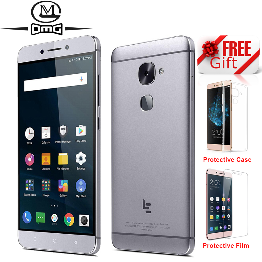LeTV LeEco le 2 S3 X522 X526 Snapdragon 652 Núcleo octa Android telefone móvel 6.0 GB RAM 32 3GB 64GB ROM 4G Smartphone Dual sim