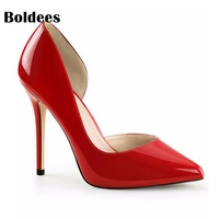 Brand Shoes Woman High Heels Pumps Red Nude High Heels 10CM Women Shoes High Heels Wedding