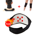 Tourmaline Self Heating Magnetic Therapy Neck Pad & Kneepad Support Tourmaline Knee Massage Free Shipping