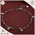 Beautiful Popular 925 Sterling Silver Butterfly Pendant Charm Foot Anklet Chain For Girls