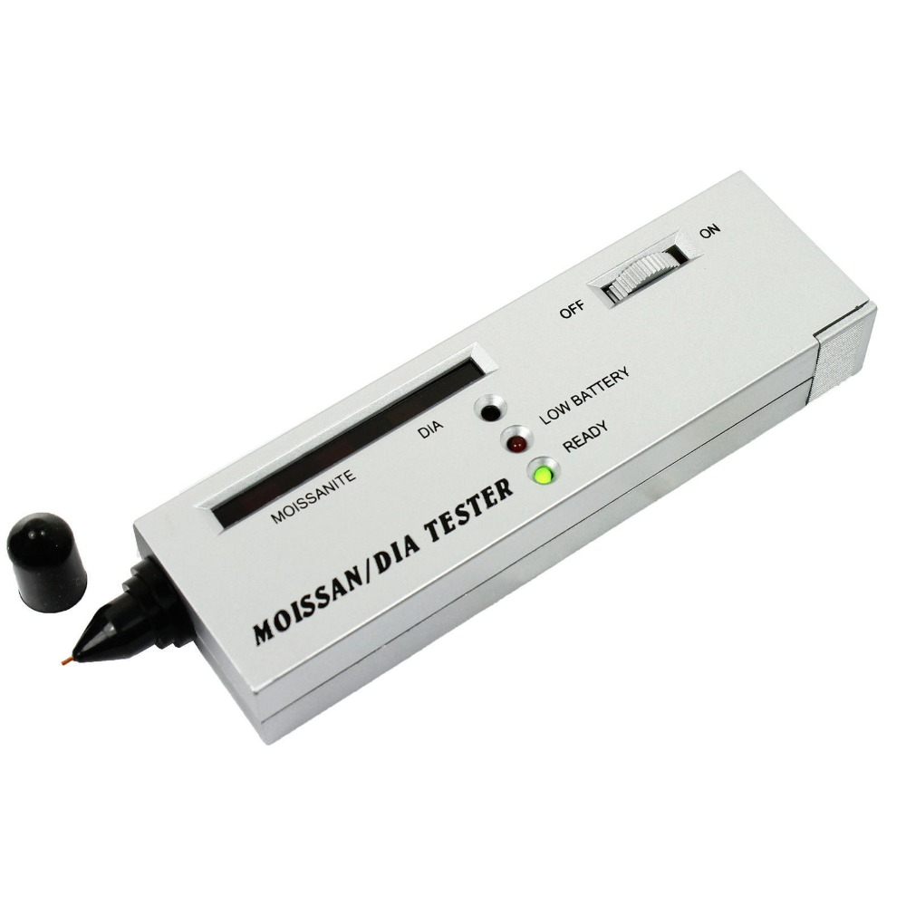 Constructive Dhdl-led Moissanite Jewelry Diamond Gemstone Tester Authentication Selector Tool Silver