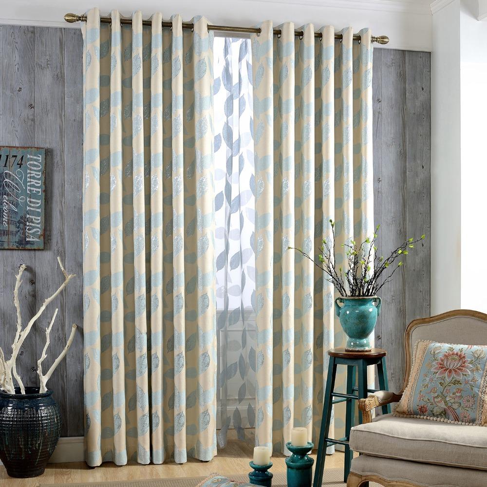 diseo jacquard cortina de tela de impresin y de la sala de estar o dormitorio ventana