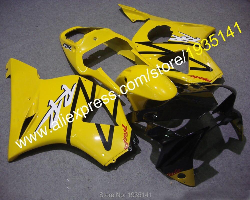 Pour Honda CBR900RR 2002-2003 954 CBR900 RR CBR954RR 02 03 Kit de carénage de carrosserie en plastique ABS jaune (moulage par Injection)