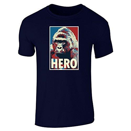 Performance T Shirt By Design Harambe Pop Art Hero Short Sleeve T-Shirt Basic Logo T Shirt Printers