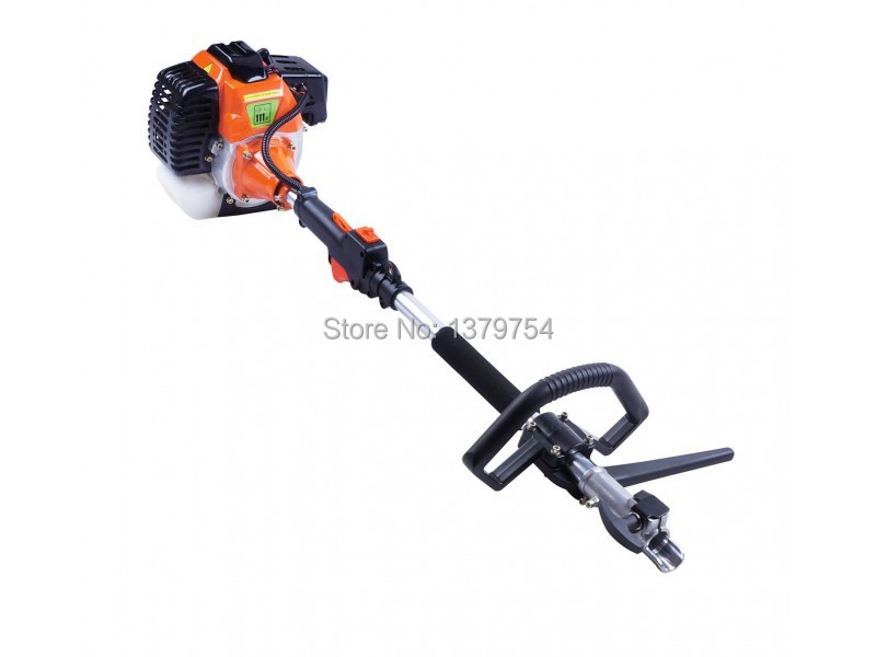 Tools : 2 in 1 Heavy Duty 52cc Petrol Powered Strimmer Grass Trimmer Brush Cutter  amp  3 Blade factory selling