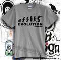 new 2017 free shipping cotton man men male sitcoms evolution eminem man short-sleeve T-shirt