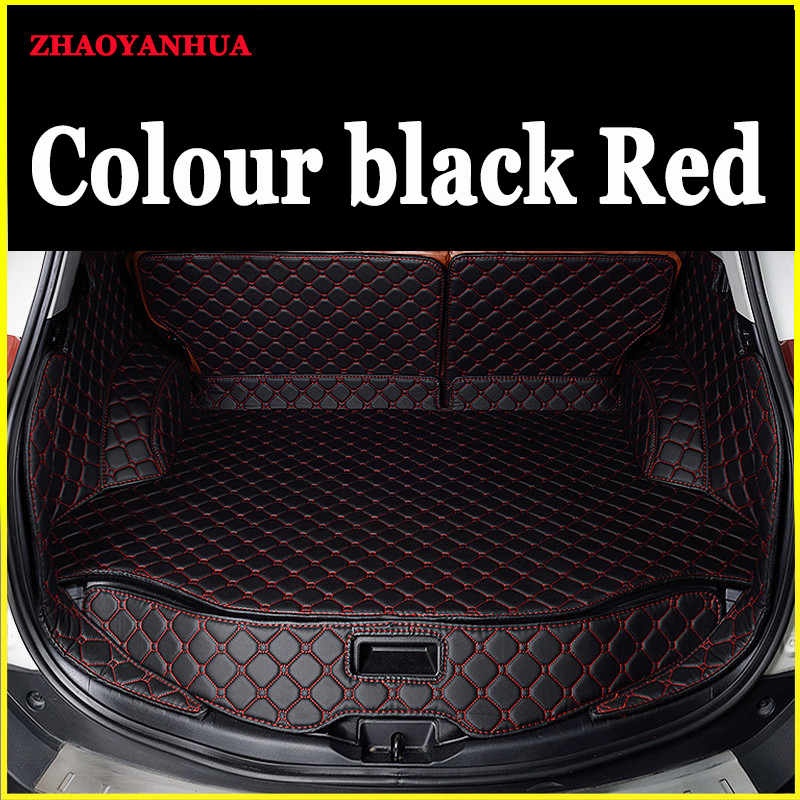 Custom Car Trunk Mats Fit All Models For Toyota Land Cruiser Prado Zelas Reiz Yaris L EZ 86 Levin Sequoia Alp Styling Trunk Mats