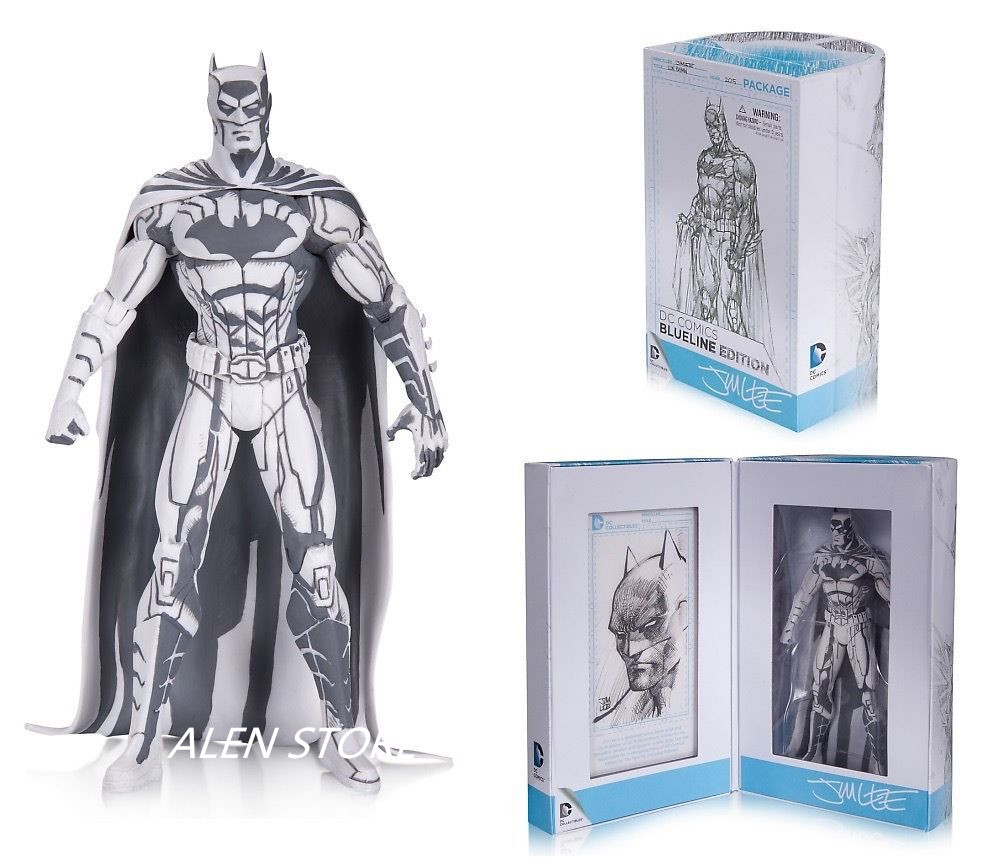 ALEN Batman 1/8 scale painted 2015 Blueline Edition ACGN Garage Kit Toy Brinquedos PVC Action Figure Collectible Model Toy 16cm image
