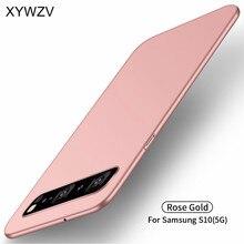 สำหรับ Samsung Galaxy S10 5G กรณี Silm Luxury Ultra Thin Smooth สำหรับ Samsung Galaxy S10 5G สำหรับ Samsung S10 5G