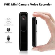 C18 Mini Câmera 2.7 K HD H.264 Caneta Câmera Portátil Gravador de Voz Mini Dv Micro Câmera Trabalhando Durante o Carregamento Espion