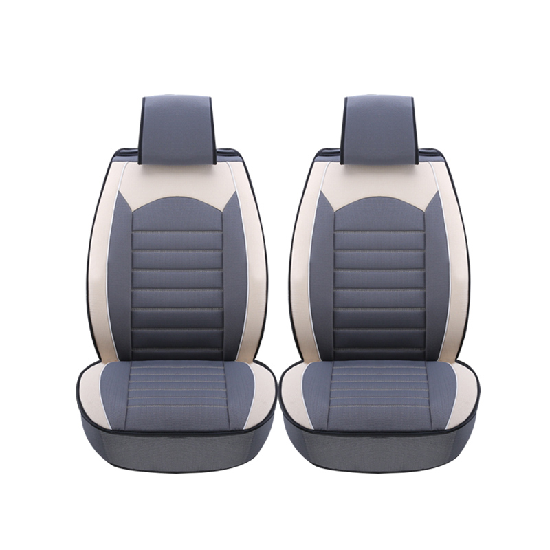 2 Pcs car seat covers For Mitsubishi Lancer Outlander Pajero Eclipse Zinger Verada asx I200 car accessories styling