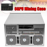 6 GPU Eth ZEC HSR Miner Case Ethereum Miner Power Supply For Bitcoin Miners Support 6